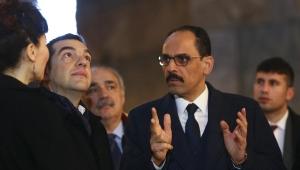 Yunanistan Başbakanı Aleksis Çipras, Ayasofya'yı gezdi