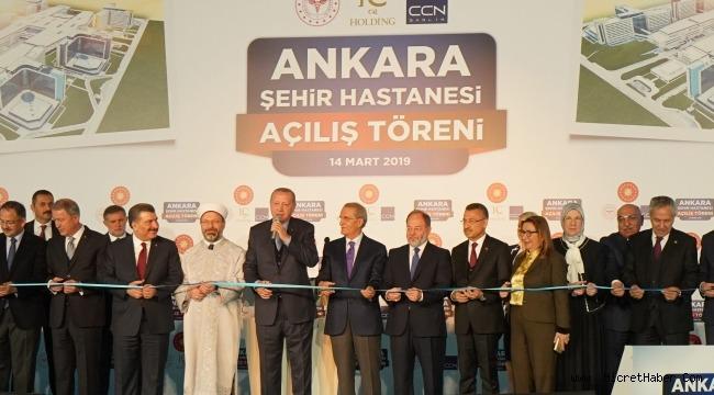 Ankara Şehir Hastanesi Bilkent Tıp Bayramı'nda Açıldı