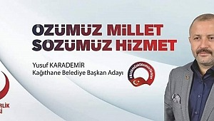 Büyük Birlik Partisinin Kağıthane Belediye Başkan Adayı  Yusuf Karademir kimdir?