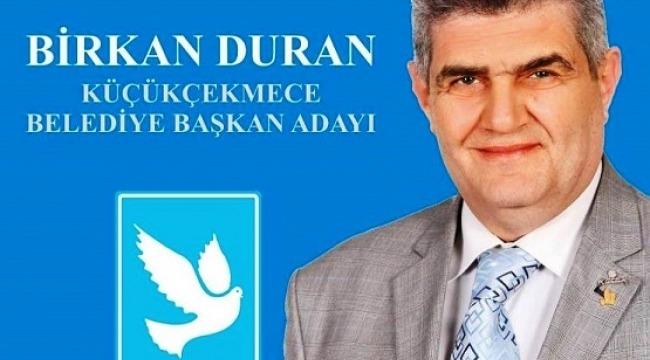 DSP Küçükçekmece Belediye Başkan adayı Birkan Duran kimdir.?