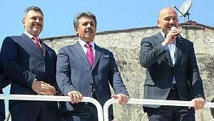 İçişleri Bakanı Süleyman Soylu,Küçükçekmece'de vatandaşlarla buluştu