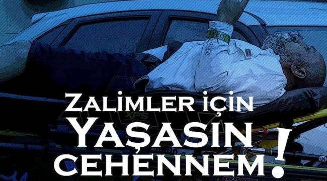 """İstanbul Ayasofya Camii Önünde """"Hıristiyan Terörü"""" lanetlendi"""