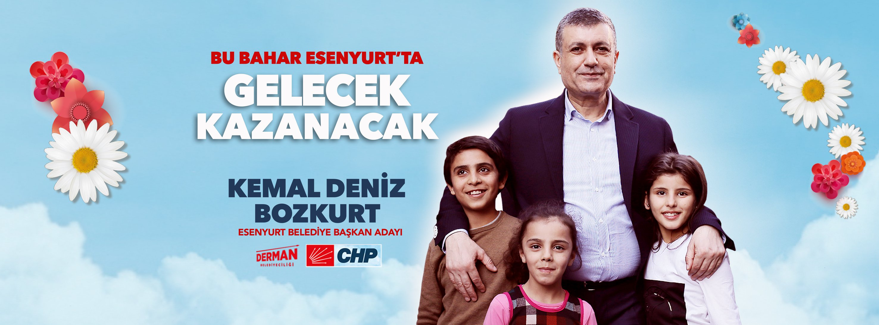 Kemal Deniz Bozkurt Esenyurt'ta Baharı 1 Nisan'da kutlayacak