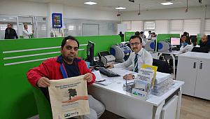 CK Enerji Boğaziçi Elektrik, müşterilerine bez çanta hediye ediyor