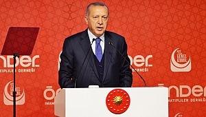Cumhurbaşkanı Recep Tayyip Erdoğan ÖNDER 'in 57. Genel Kurulu'na katıldı