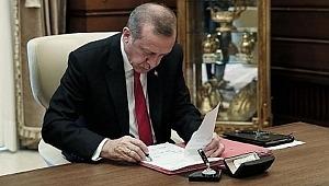 Erdoğan görevden aldı!