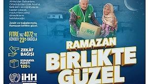 İHH, Ramazan'da 120 ülke ve bölgede |
