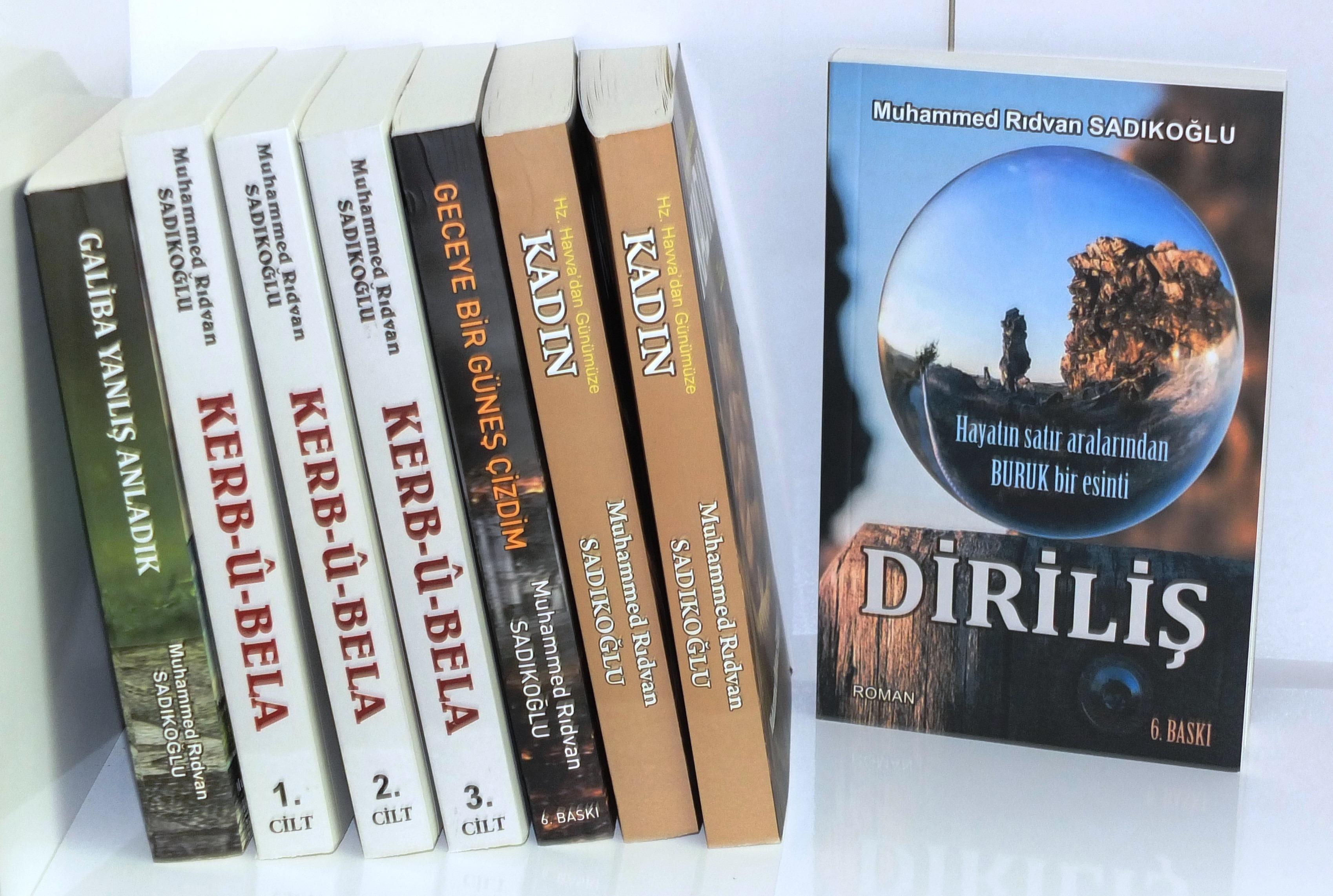 Yazar Sadıkoğlu'ndan Edebiyat Dünyasına 7 Yeni Eser