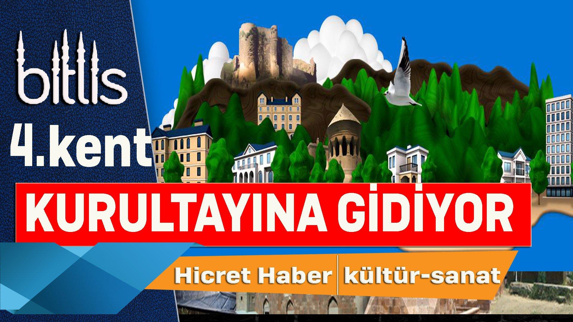 Bitlis Kent Kurultayına Hazırlanıyor