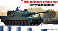 Milli Altay tankına motoru Ukrayna'da bulundu.