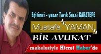 Mustafa '' Yaman '' Bir Avukat