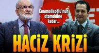 Mehmet Altınöz den Saadet Partisi'e haciz