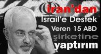 İrandan  İsrail Finansörü Şirketlere Veto