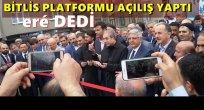 Bitlis Platformu Eré (evet) Dedi