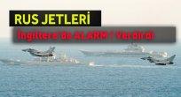 Rus Jetleri İngiltere'de Alarm ! Verdirdi